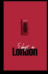 Grafica 5 days in London