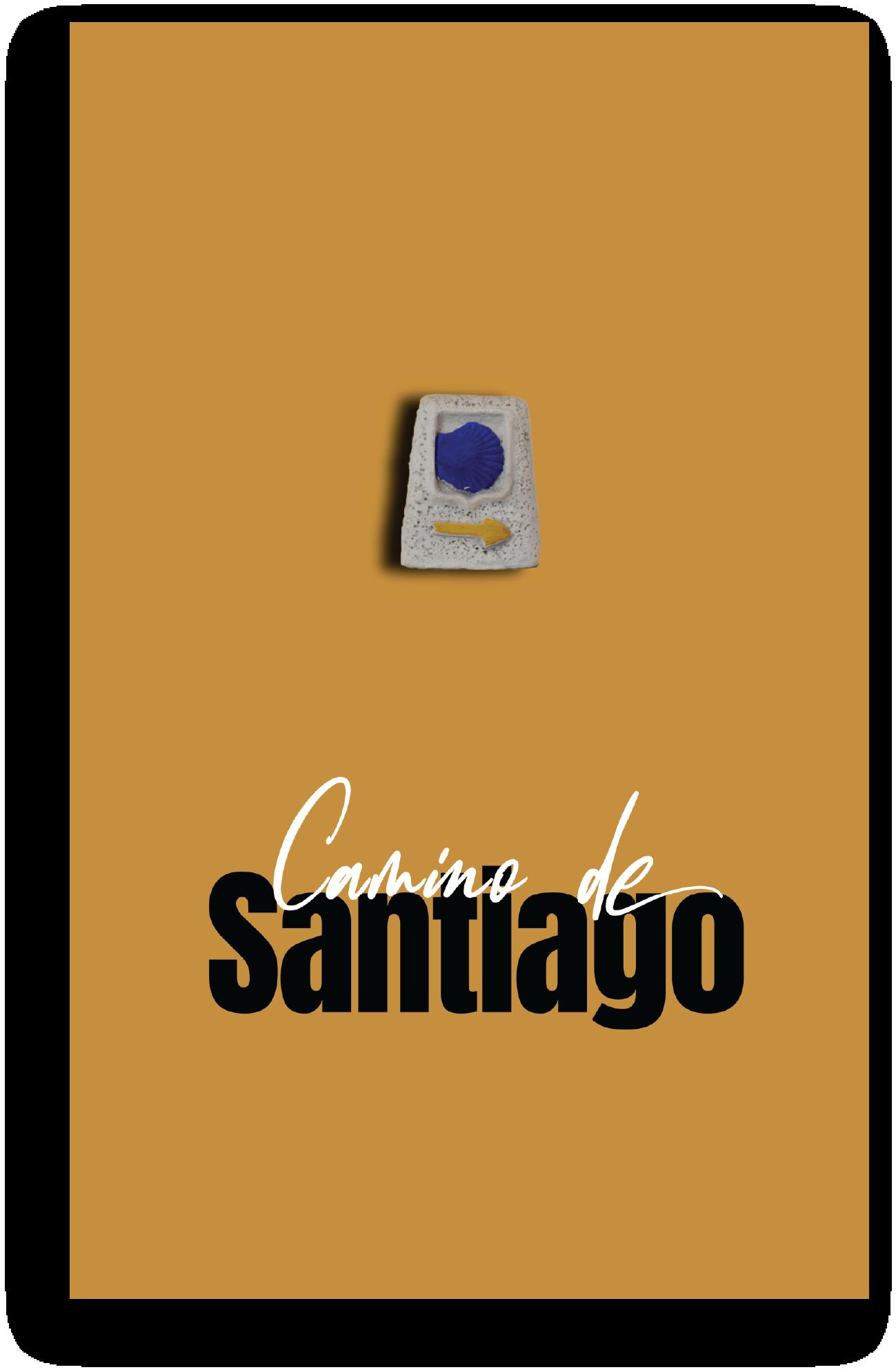 Grafica Camino de Santiago