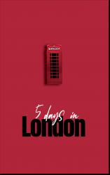Copertina Libro di Viaggio | Londra