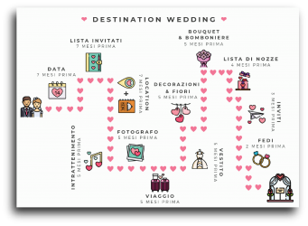 Grafica per social: Destination Wedding