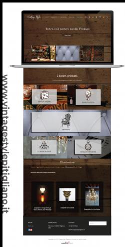 Vintage Style Pitigliano | E-commerce